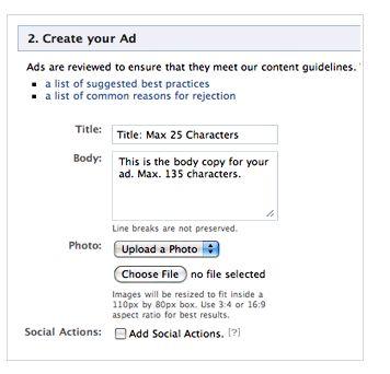 pubblicit� su Facebook